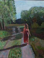 Алиса бежит в лес