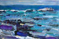 Море и камни.