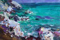 Камни и море. О. Тассос
