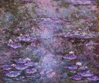 Водяные лилии N33, копия  картины Клода Моне