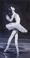 Балерина. Танец белого лебедя