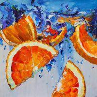 Цитрусовый фреш. Апельсины