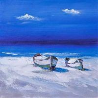 Белый берег. Синий океан N5