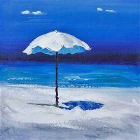 Пляжные истории. Белый зонт