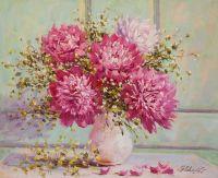 Розовые пионы N2