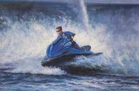Гидроцикл. Покоряя море