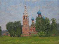 Покровский храм. Лето