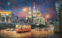 Вечерний свет Москвы