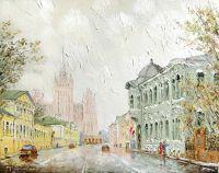 Большая Никитская улица. Москва