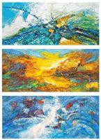 Путешествие к центру Земли. Триптих