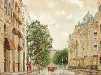 Неглинная улица. Москва.