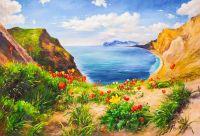 Маки и море