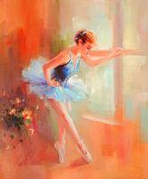 Урок танца.худ.С.Минаев