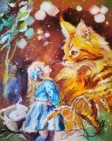 Алиса и рыжий кот