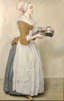 Копия картины «Прекрасная шоколадница» Ж.Э.Лиотар