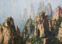 Горный пейзаж. Китай