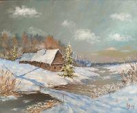 Зимний пейзаж-3