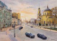 Прогулки по Москве. У Никитских ворот
