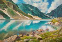 Горное озеро. В заповедном краю