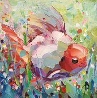 Золотая рыбка в море синем…N2