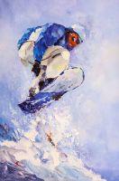 Сноубордист. Жажда скорости N2