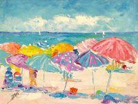 Летние истории. Разноцветные зонтики