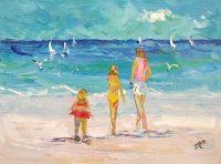Летние истории. Дети и море