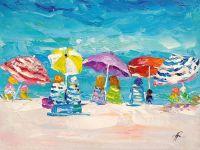 Летние истории. Разноцветные зонтики N2