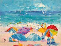 Летние истории. Разноцветные зонтики N3
