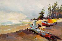 Лодка на берегу N2