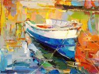 Лодка на воде N6