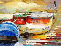 Лодки на воде N5