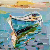 Лодка на воде N7