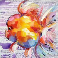 Золотая рыбка Оранда N3