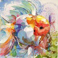 Золотая рыбка Жемчужина N2