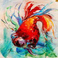 Золотая рыбка для исполнения желаний. N1
