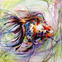 Золотая рыбка для исполнения желаний. N3
