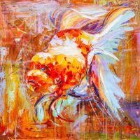 Золотая рыбка для исполнения желаний. N4