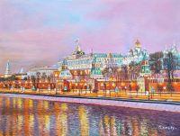 Москва сияет яркими огнями