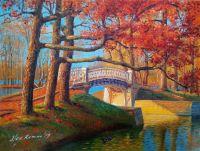 В Дворцовом парке осенью. Гатчина
