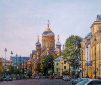 Блеском утра озаренный… Гуляя по Васильевскому острову