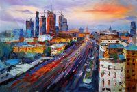 Москва-Сити. Мегаполис в движении