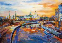 По Москве-реке проплывали корабли…