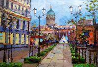 Санкт-Петербург. Вид на Казанский собор