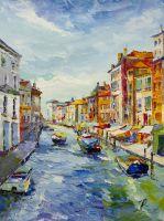 Венецианский канал. Яркий полдень