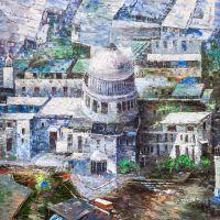 Вид на Собор Святого Павла с высоты птичьего полета
