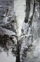 Ущелье среди скал, где днём прячется мгла