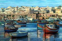 Malta, Marsaxlokk, СРАНА ЦВЕТНЫХ ЛОДОК