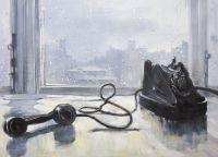 Копия картины Юрия Пименова Ожидание
