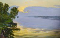 Тихий закат. Волга